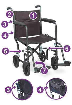 Airgo UltraLight Transport Chair
