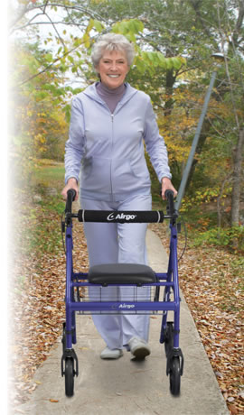 Airgo® Lightweight Rollator