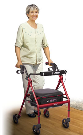Airgo® Adventure™ 6 Lightweight Rollator