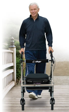 Airgo® Adventure™ 8 Lightweight Rollator